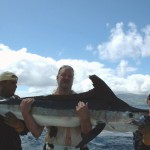 Big White Marlin