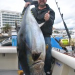 Fat Bigeye tuna caught by the lucky Swedish man! May