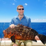 Beautiful Dusky grouper for the lucky Michael. June