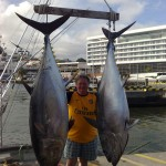 Miss Helle with your tunas