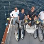 5 Bigeye tunas for the American team. May