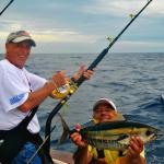Small bigeye tuna prior to release. June