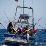 1 of 5 240 pounds Bigeye tuna coming inside. May