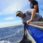 Nice Blue Marlin for Mr. Ole