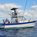 Alabote working a nice Bluefin tuna